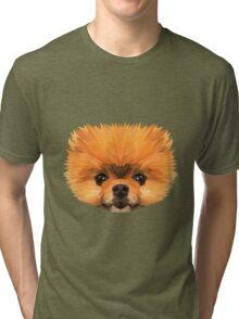 Boo low poly Tri-blend T-Shirt