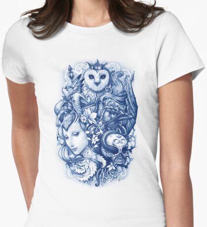 FABLES Womens Fitted T-Shirt
