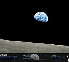 Earthrise by OuterSpaceInfo