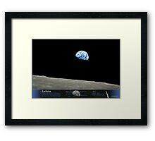 Earthrise Framed Print