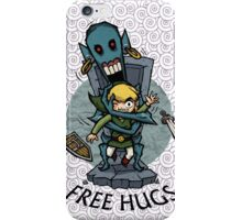 Legend of Zelda Wind Waker FREE HUGS T-Shirt iPhone Case/Skin