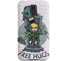 Legend of Zelda Wind Waker FREE HUGS T-Shirt Samsung Galaxy Case/Skin