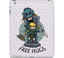Legend of Zelda Wind Waker FREE HUGS T-Shirt iPad Case/Skin