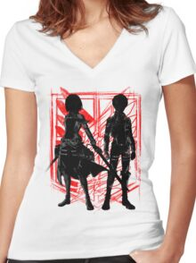 Our Hope Women's Fitted V-Neck T-Shirt