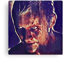 Roy Breaks The Walls - Crackle  Canvas Print