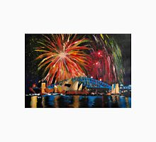 Sydney Silvester Fireworks At New Year Unisex T-Shirt