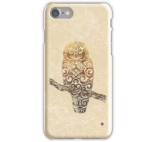 Swirly Owl iPhone Case/Skin
