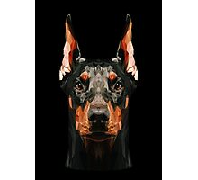 Doberman low poly Photographic Print