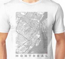 Montreal Map Line Unisex T-Shirt