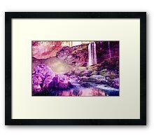 Purple Pondling Framed Print