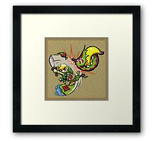 Legend of Zelda Wind Waker Boko Baba T-Shirt Framed Print