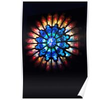 Rose Window -Lumiere Poster