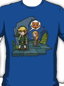 Legend of Zelda Wind Waker Meow T-Shirt T-Shirt