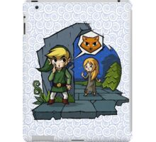 Legend of Zelda Wind Waker Meow T-Shirt iPad Case/Skin