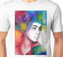 Girl Lost in Color Unisex T-Shirt