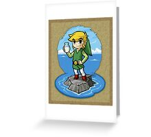 Legend of Zelda Wind Waker Bottle of Milk T-Shirt Greeting Card