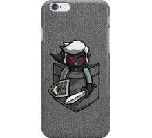 Pocket Dark Link Legend of Zelda T-Shirt iPhone Case/Skin
