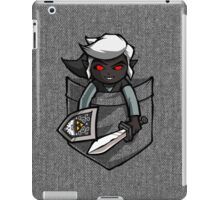 Pocket Dark Link Legend of Zelda T-Shirt iPad Case/Skin