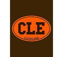 CLE - EURO STICKER Photographic Print