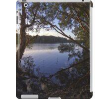 Rope Swing over Lake Ainsworth #2 iPad Case/Skin