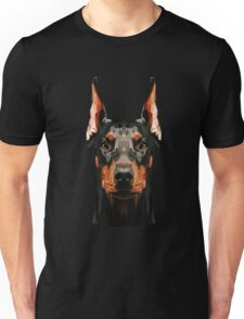 Doberman low poly Unisex T-Shirt