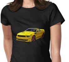 2014 Saleen Mustang Convertible s351 Womens Fitted T-Shirt
