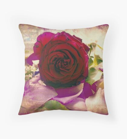 They are not long the days of wine and roses Throw Pillow