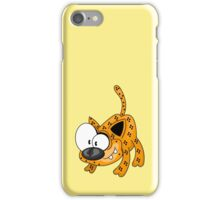 Cartoon big cat iPhone Case/Skin