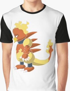 Magmar - Side View Graphic T-Shirt