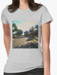 Hazy Afternoon Womens Fitted T-Shirt