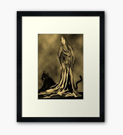 Beauty and the Beast Framed Print