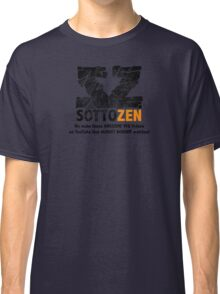 SottoZen - Shattered Logo with Slogan Classic T-Shirt