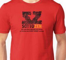 SottoZen - Shattered Logo with Slogan Unisex T-Shirt