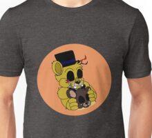 Golden Freddy (FNAF Bubble Collection) Unisex T-Shirt