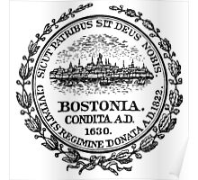 City of Boston - City Seal, Boston Massachusetts Poster