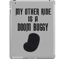 Doom Buggy (Black Text) iPad Case/Skin