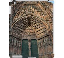 Strasbourg Cathedral Facade, France iPad Case/Skin