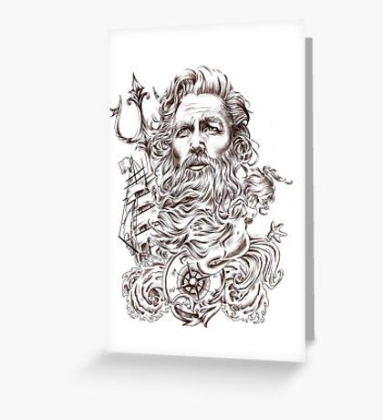 Neptun Greeting Card