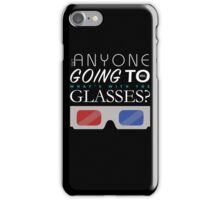Doctor Who 3D Glasses iPhone Case/Skin