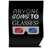 Doctor Who 3D Glasses Poster