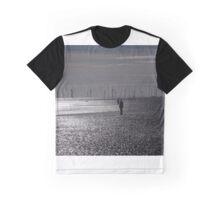 Crosby Beach, Liverpool, UK Graphic T-Shirt