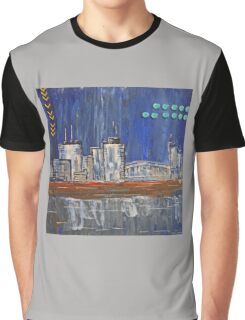 Cityscape by night Graphic T-Shirt