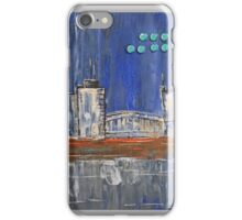 Cityscape by night iPhone Case/Skin