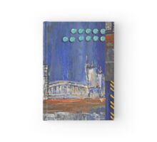 Cityscape by night Hardcover Journal