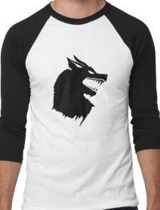 Game of Thrones Direwolf  Men's Baseball ¾ T-Shirt