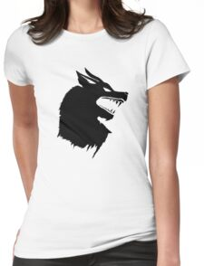 Game of Thrones Direwolf  Womens Fitted T-Shirt