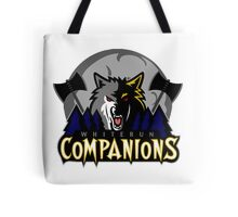 Whiterun Companions Basketball Logo Tote Bag