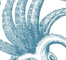 Blue Octopus Sticker