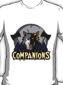 Whiterun Companions Basketball Logo T-Shirt