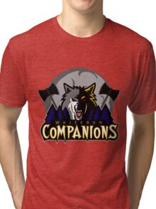 Whiterun Companions Basketball Logo Tri-blend T-Shirt